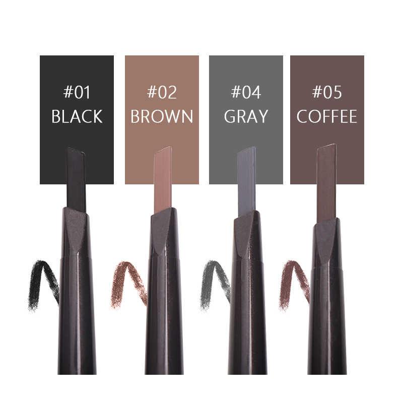 MIXDAIR автоматический Водостойкий карандаш для бровей с кистью, 4 цвета, многофункциональная подводка для бровей, инструменты для макияжа, косметика для глаз