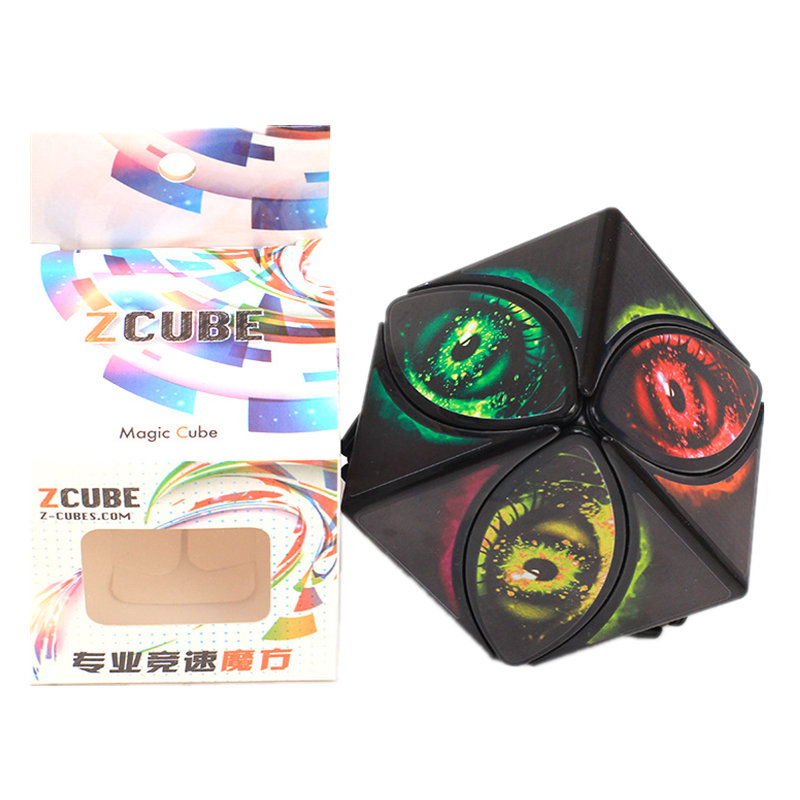 Cube Ivy Cube Leaf Line Devil Eye Version Speed Puzzle Maple Leaf Magic Eye Cube Of Leaf Puzzle Magic Cube Learning Educational
