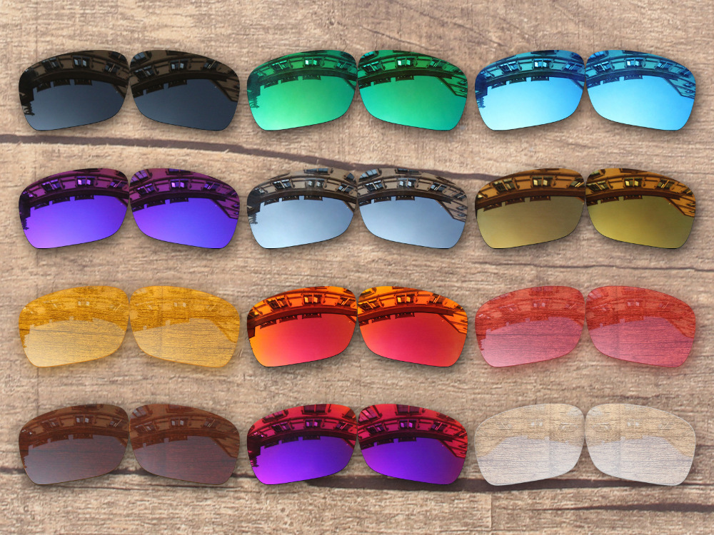 PapaViva POLARIZED Replacement Lenses for Authentic Holbrook Sunglasses 100% UVA & UVB Protection - Multiple Options