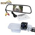 Bemtoo 5 polegada hd led 800*480 traseira do monitor espelho retrovisor com CCD câmera de visão traseira Do Carro para K2 Rio Sedan noite à prova d' água versão
