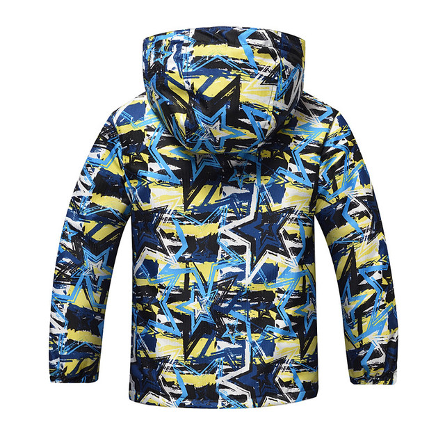 New 2019 Boys Jackets Coats Spring Autumn  Winter Kids Coat Windbreakers Waterproof Windproof Baby Boys Jacket Thick Warm