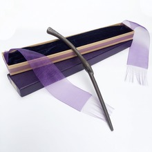 Metal/Iron Core Bellatrix Lestrange Magic Wand/ Harry Potter Magical Wand/ Elegant Ribbon Gift Box Packing
