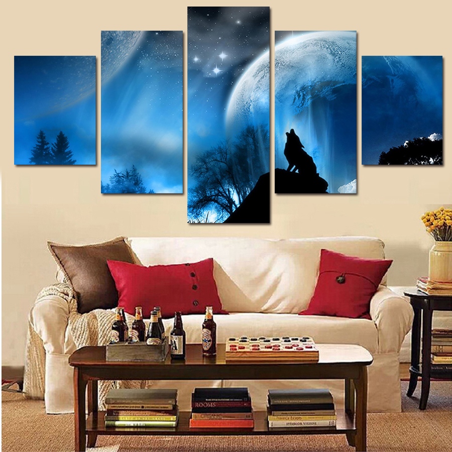 Aliexpress.com : Buy Paintings Wall Art Luxury Elegant ...