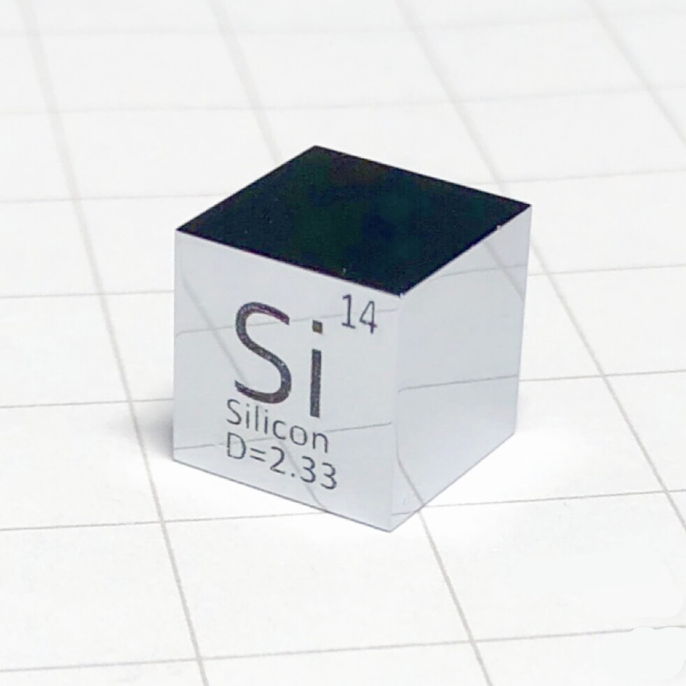 Silicon Polished Cube Si Mirror Shining Refining Crystal Element Collection Science Experiment 10x10x10mm Density DevelopmentSilicon Polished Cube Si Mirror Shining Refining Crystal Element Collection Science Experiment 10x10x10mm Density Development
