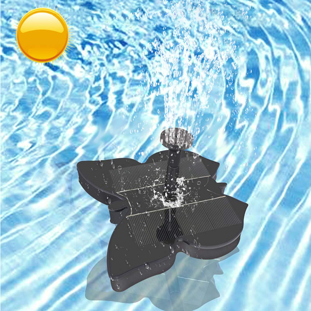 Butterfly Shaped Sprinkler Garden Pool Landscape Decor Solar Pump Water Fountain 1.4W Monocrystalline silicon Solar FountainButterfly Shaped Sprinkler Garden Pool Landscape Decor Solar Pump Water Fountain 1.4W Monocrystalline silicon Solar Fountain
