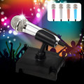 K2 Voice Chat/Video Chat/KTV Mini Wired Microphone with Holder for iOS/Andriod Phones/PC
