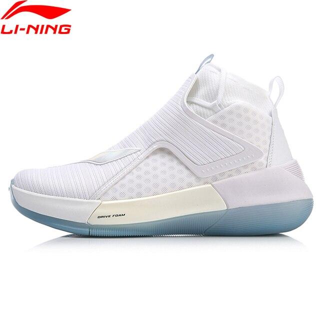 Li-Ning Men YUSHUAI XII Professional Basketball Shoes Mono Yarn Breathable LiNing High-Cut Sport Shoes Sneakers ABAN049 XYL200