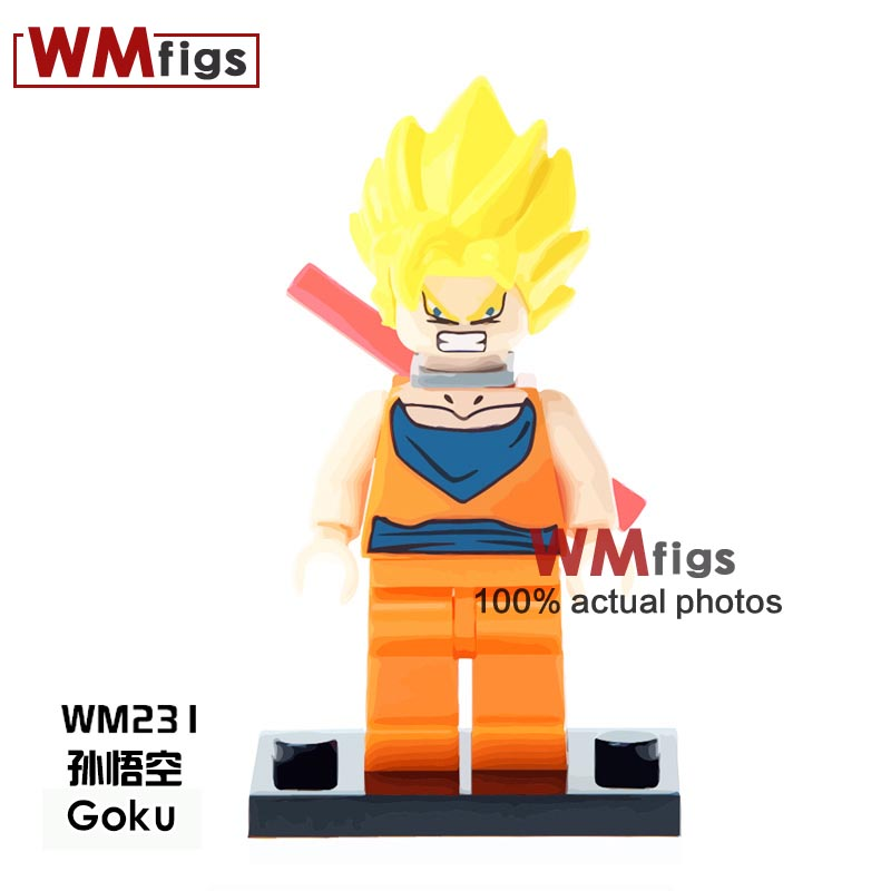 Toys & Hobbies Kf2040 Single Sale Building Blocks Dragon Ball Z Figures Goku Dyspo Zamasu Bricks Gift Action Best Collection For Children Toys Last Style
