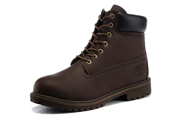 TIMBERLAND Men Classic 10061 Dark Brown Autumn Ankle Martin Boots,Man Male Leather Outdoor Casual Shoes Oversea Simple Version 1