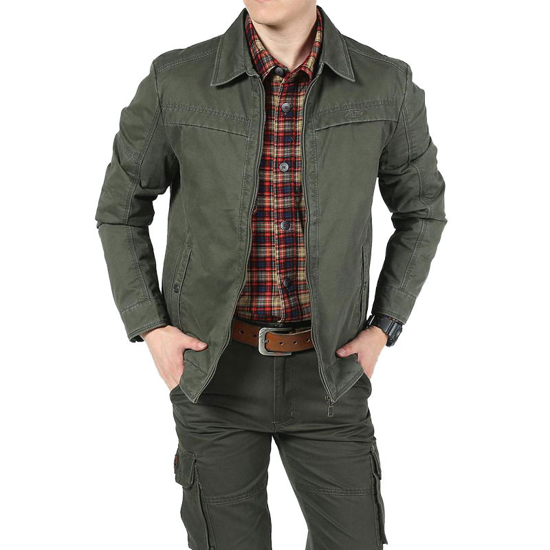 New Spring Black brand military jacket men pockets stand collar design plus size 3xl casual coat men CLOTHES army green 99503 elegant stand collar pockets design pure color coat for men