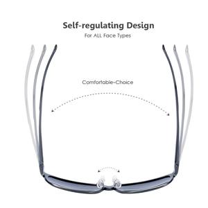 Image 4 - BARCUR Trending Styles Aluminium Magnesium Glass Square Men Sunglasses Polarized Sun glasses for Men Sport Eyewear Oculos de sol