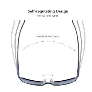 Image 4 - BARCUR gafas De Sol cuadradas De aluminio y magnesio para hombre y mujer, lentes De Sol polarizadas Estilo Vintage, deportivas