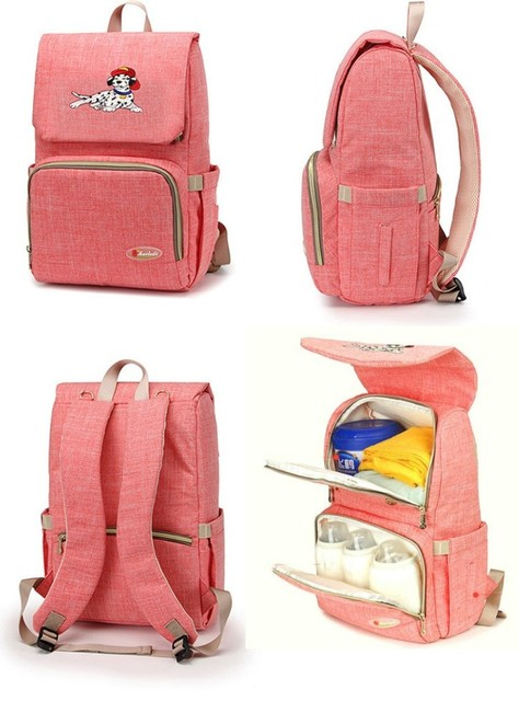 523913b8d2 Fashion Mummy Maternity Bag Multi-function Diaper Bag Backpack Nappy Baby  Bag with Stroller Straps for Baby Care