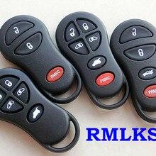 RMLKS бесключевая запись дистанционного управления автомобильный брелок крышка оболочки замена для Chrysler для Jeep Cruiser Town Key 3 4 5 6 кнопок