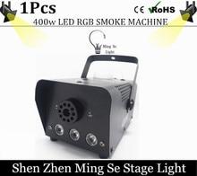 2016 nuevo Led RBG Mini control remoto máquina de humo 400 W máquina de humo profesional equipo de iluminación DJ efectos de luz