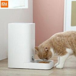 Xiaomi Mijia inteligentny kotek karmnik dla zwierząt w pełni wymienny zmywalny świeżo przechowywane 1.5 kg karma dla kotów Wifi bezprzewodowy dla zwierząt domowych inteligentnego domu 1