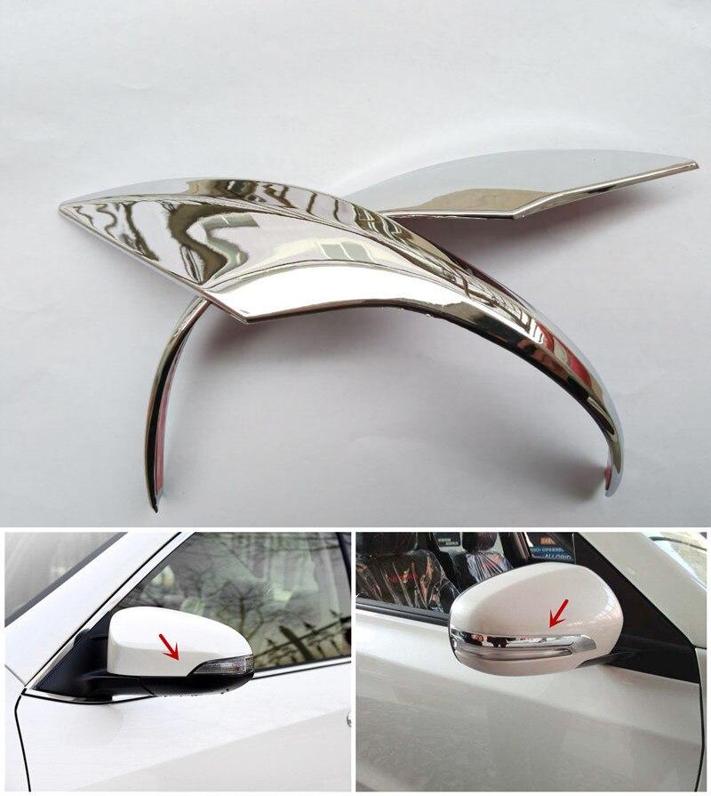 Design Accessories Side Mirror Cover Cap Trim For Toyota