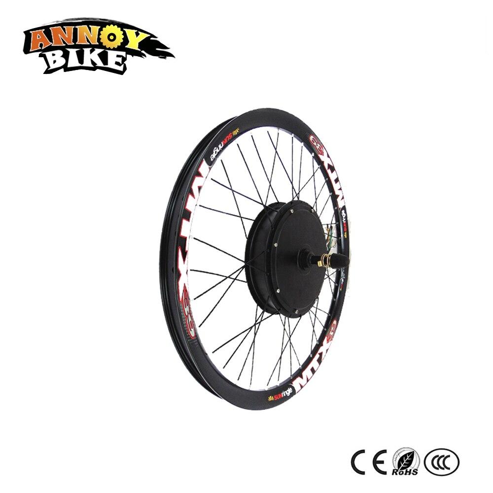 B velosipēdu motors 50H ar magnētisko spieķu motoru 72v 5000w, kas - Riteņbraukšana - Foto 2