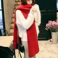 Thick Winter Foulard For Women Desigual Magic Snood Scarf Luxury Kint Crochet Brand Shawl Poncho Scarves MF58962