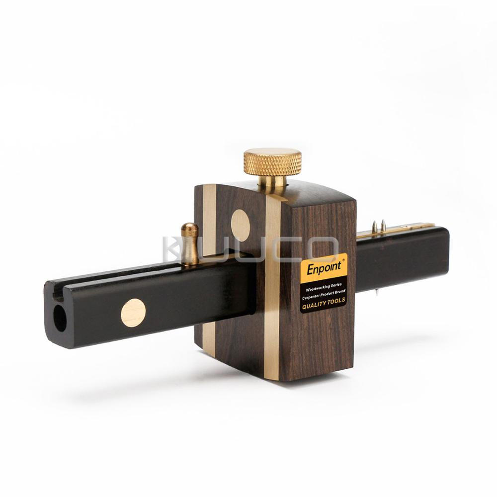 цена Woodworking Tools/Marking Gauge/165 MM Sliding Mark Scraper Adjustable Head Meter Marker/DIY Tool/Woodworking Measuring Tool