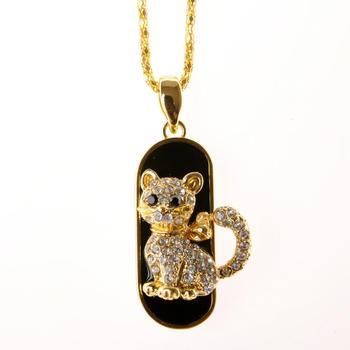 TRUE100% Flash Memory Best Selling Jewelry Animal Cat Usb Flash Drive HOT Usb 2.0 8gb 16gb Usb Pendrive 32gb 64gb Memory Stick