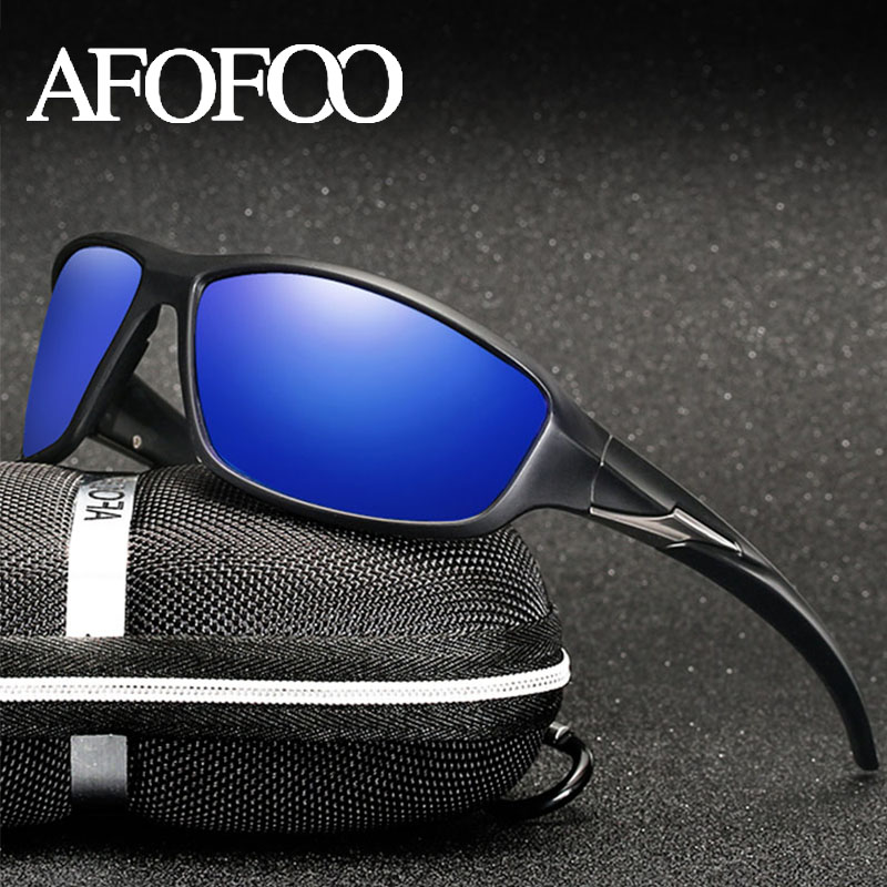 Afofoo Brand Design Classic Men Polarized Sunglasses Men Driving Sun Glasses Male Travel Goggle Eyewear Uv400 Shades Delicacies Loved By All