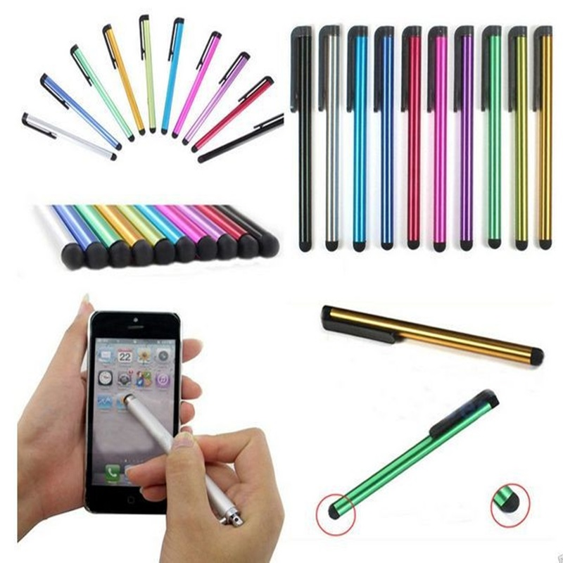 best service 1e1a7 995f9 10pcs/lot Capacitive Touch Screen Stylus Pen For IPad Mini Air Pro 9.7 10.5  iPhone Apple Samsung Universal Tablet PC Smart Phone-in Tablet Touch Pens  ...