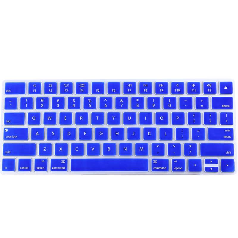 Desktop US Version Magic Wireless Bluetooth keyboard Silicone Keyboard Cover Protector for Apple Magic Keyboard 2 2016 2017