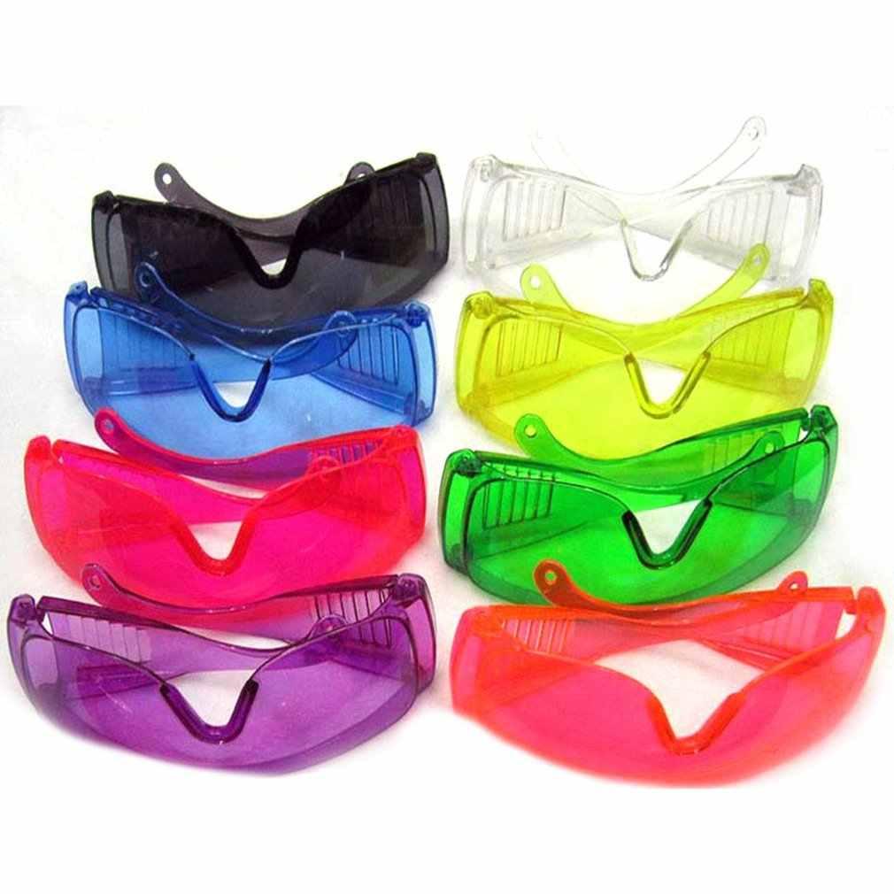 Przemysłowe gogle ochronne anty laserowe okulary ochronne na podczerwień PC soczewki przeciwmgielne anty-uv okulary przeciwuderzeniowe