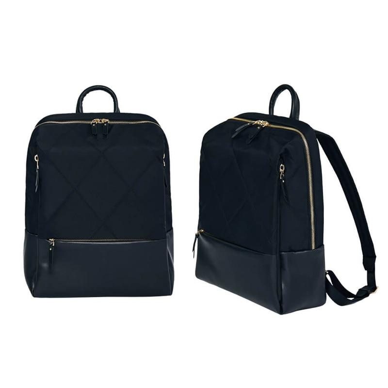 Оригинальный Xiaomi 90 Забавный городской рюкзак для женщин Модный Элегантный рюкзак с ромбовидной решеткой для девочек, Студенческая Повседневная Школьная Сумка 13 дюймов - 3