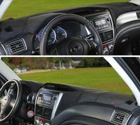 Dashmats car styling accessories dashboard cover for subaru impreza wrx sti GE GH GR GV 2007 2010 2011 2015