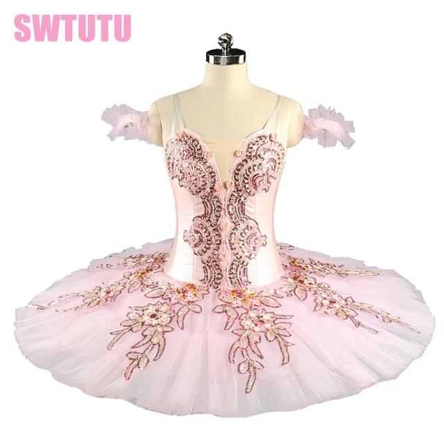 2c246ba46 Professional Ballet Tutu Pink Women Nutcracker Fairy Doll Ballet ...