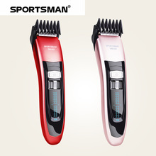 SPORTSMAN Skilled Electrical Hairdresser Hair Trimmer Grownup Child Electrical Pushing Clippers Electrical Hair Straight Hair Comb