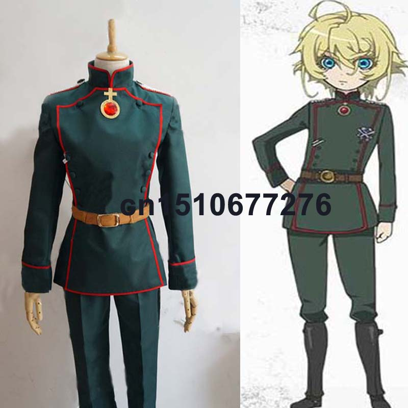 Здесь продается  New Anime Saga of Tanya the Evil Chara Tanya Cosplay Costume Tailor Made  Одежда и аксессуары