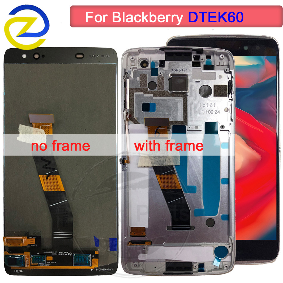 100% test For BlackBerry DTEK60 LCD Display Touch Screen Digitizer Assembly For BlackBerry DTEK60 LCD Dtek 60 Screen Replacement100% test For BlackBerry DTEK60 LCD Display Touch Screen Digitizer Assembly For BlackBerry DTEK60 LCD Dtek 60 Screen Replacement