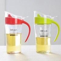 Large Oil Tank Glass Leak Proof Pots Seasoning Kitchen Supplies Soy Sauce Bottles Vinegar 620ML