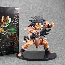 Dragon Ball Z Latiz Radit Anime PVC Figure Banpresto SC Son Gokou Goku Brother Battle ver collection kids toys gifts model