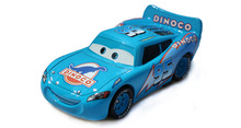 One Piece Pixar Car 2 toys 1:55 Scale Diecast car metal Alloy Brio Modle Cute Toys For Children Gifts Anime Cartoon Kids Dolls