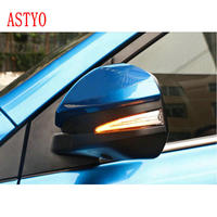 ASTYO For Toyota RAV4 XA40 2013 2018 Highlander XU50 14 18 LED Side Wing Rearview Mirror Indicator Blinker Dynamic Light Lamp