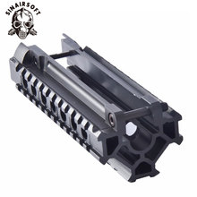 Горячий Тактический алюминиевый сплав H& K MP5 Tri-Rail Picatinny Handguard система адаптер кронштейн для прицела для AEG страйкбол принадлежности для охоты