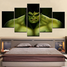 Canvas Pictures Home Decor HD Prints 5 Pieces Comics Hulk Paintings Unique Type Posters For Childrens room Wall Art Framework