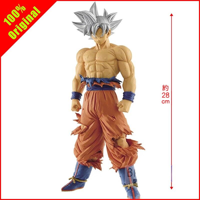 100% Original ROS Dragon Ball Super Goku Ultra Instinct Jiren 28 CM PVC figurines à collectionner modèle animé le plus animé