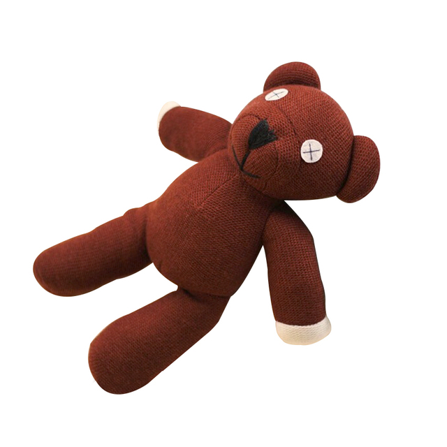 1 piece 9 mr bean teddy bear animal stuffed plush toy brown figure doll