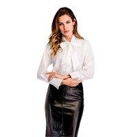 2018 Women Blouses Shirt Tops Sexy Korean Long Sleeve Bandage Spring Summer Ladies Clothing Loose Boho