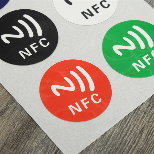 6pcs/lot NFC Tags NTAG213 Chip 888 Bytse Android Writeable Programmable Smart Tags Smart NFC Tags Stickers