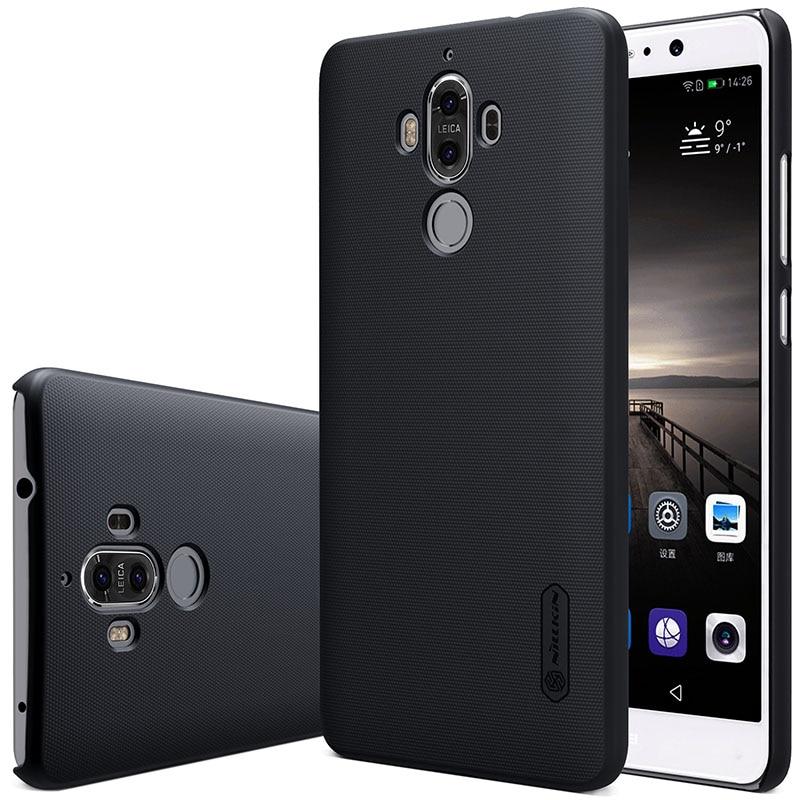 Untuk Huawei Mate 9 kasus Nillkin Frosted Perisai Keras Slim Matte - Aksesori dan suku cadang ponsel - Foto 2