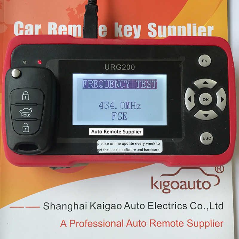 Flip Remote Chìa Khóa 3 Nút 434 MHz Cho Xe Hyundai I20 I30 Chìa Khóa Xe Ô Tô Thay Thế Từ Xa Kigoauto