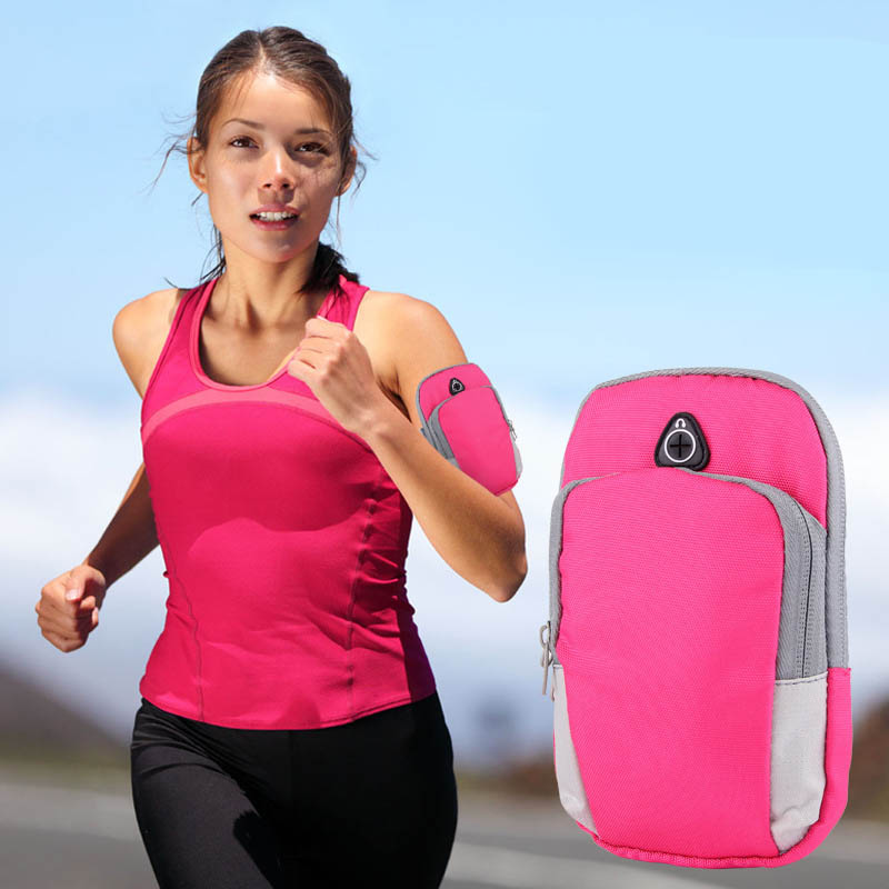 Wallet Sports-Wrist Portable Arm-Bags Fitness Outdoor Running Pouch Waist for Jogging