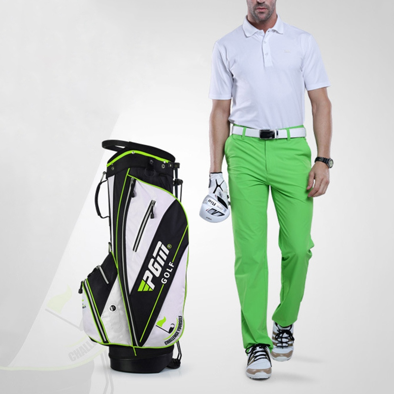 Nylon Cloth Golfbag Mens Golf Bags 14 Plunger Putter Cover Bag Golf Men's Waterproof Pack Cover Trolley Bag Golf Accessories famous brand polo golf travel wheels standard stand caddy bag complete golf set bag nylon golf cart bag staff cart golf bags