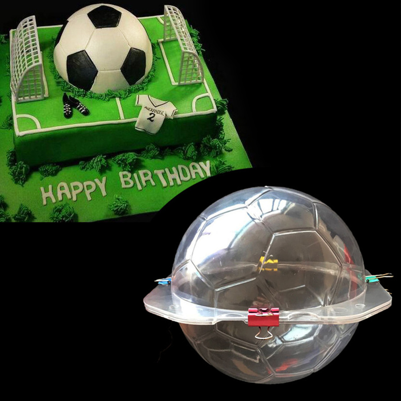3D Futebol Futebol Molde De Chocolate Molde Doces de Açúcar Bolo Molde Do  Bolo Assando Ferramentas De Decoração para Casa Acessórios de Cozinha -  Coginte.ga 0019be6f5069d